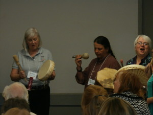 Convention Drumming